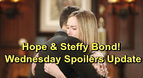 The Bold and the Beautiful Spoilers: Wednesday, June 26 Update – Steffy and Hope Connect Over Grief – Emma's Sad Memorial Service
