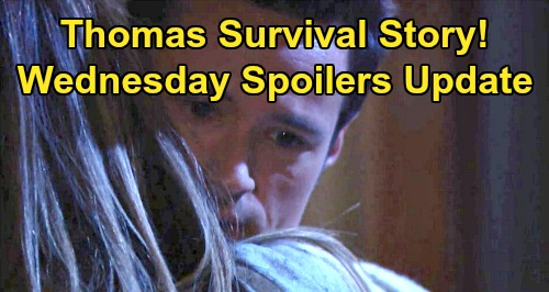 The Bold and the Beautiful Spoilers: Wednesday, November 20 Update – Hope Hears Thomas Survival Story – Shauna Flirts With Ridge