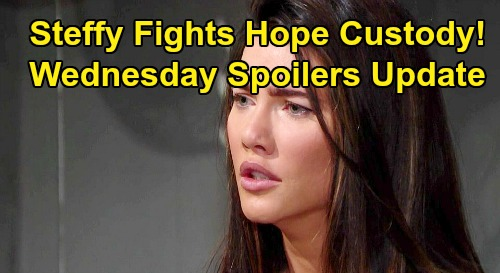 The Bold and the Beautiful Spoilers: Wednesday, November 6 Update – Steffy Fights Against Hope's Custody Push – Thomas Sets Trap