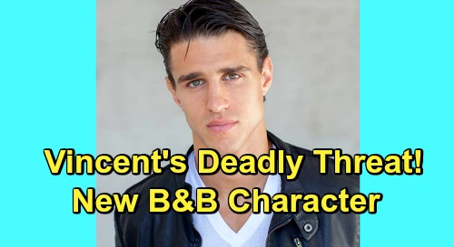 The Bold and the Beautiful Spoilers: New Hunk Vincent Waker Brings Major Trouble - Thomas' Evil Colleague Poses Deadly Threat