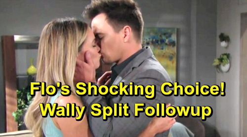 The Bold and the Beautiful Spoilers: Flo Learns About Wally Split - Wants Wyatt, But Will Baby Swap Secret Hold Her Back?