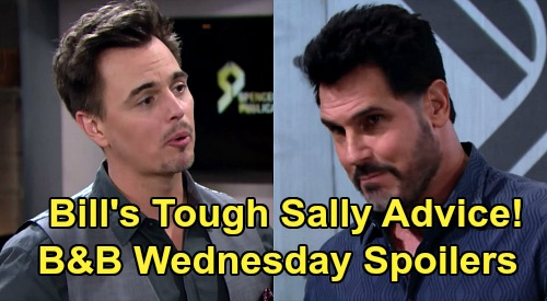 The Bold and the Beautiful Spoilers: Wednesday, April 22 - Penny Knocks Flo Unconscious - Wyatt Gets Bill's Tough Sally Advice