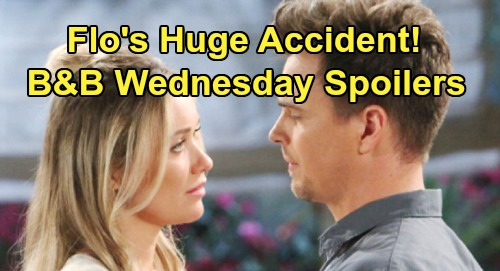 The Bold and the Beautiful Spoilers: Wednesday, July 24 - Flo Accidentally Spills A Crucial Detail - Hope Needs Help