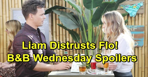 The Bold and the Beautiful Spoilers: Wednesday, March 6 - Liam Fears For Steffy's Adoption - Wyatt and Flo Reconnect