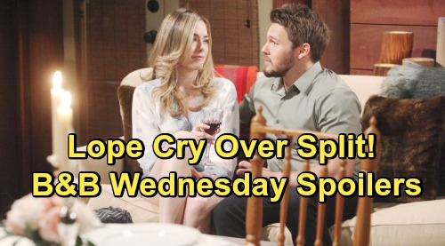 The Bold and the Beautiful Spoilers: Wednesday, May 29 - Hope & Liam Grieve For The Life They Should Have Had - Flo & Wyatt Make Love
