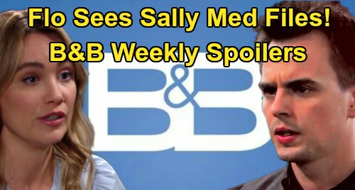 The Bold and the Beautiful Spoilers: Week of April 13 – Flo Sees Sally's Shocking Medical File – Brooke Steals Ridge From Shauna