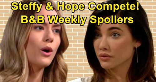 The Bold and the Beautiful Spoilers: Week of December 9 – Steffy and Hope's Fashion Face Off – Shauna's Big Win