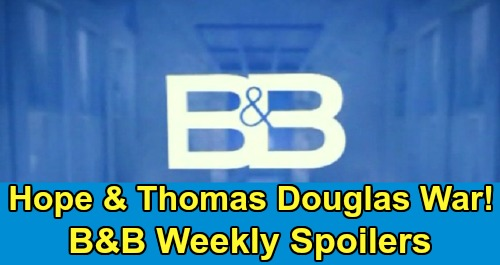 The Bold and the Beautiful Spoilers: Week of February 10 – Hope Fights For Douglas – Liam's Desperate Mission – Sally Wallows In Pain
