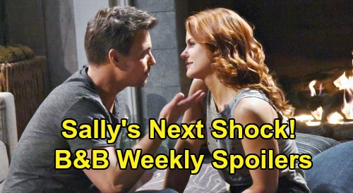 The Bold and the Beautiful Spoilers: Week of February 17 – Sally Gets Another Shock - Liam Nails Thomas – Zoe's Engagement