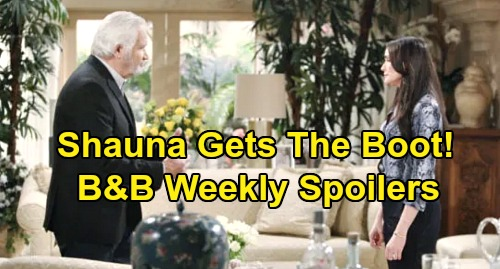 The Bold and the Beautiful Spoilers: Week of January 20 – Sally's Terrible Diagnosis – Brooke Gets Her Way, Eric Gives Shauna The Boot