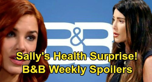 The Bold and the Beautiful Spoilers: Week of March 16 – Steffy's Next Confession – Brooke & Ridge's Reunion – Sally's Surprise Health News