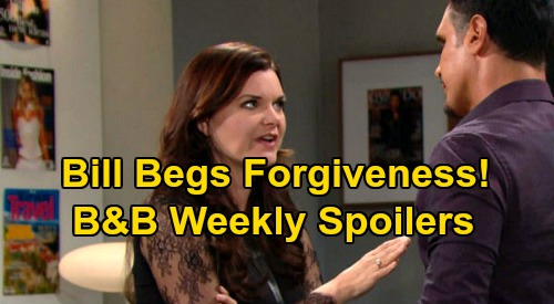 The Bold and the Beautiful Spoilers: Week of March 30 – Bill's Desperate Plea to Katie – Eric Reacts To Quinn's Confession