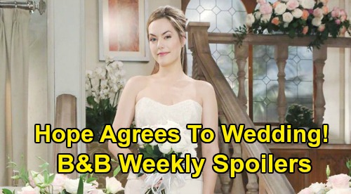 The Bold and the Beautiful Spoilers: Week of March 9 – Hope Stops Zoe's Wedding, Agrees To Marry Thomas - Bill's Dirty Little Secret