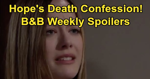The Bold and the Beautiful Spoilers: Week of November 18- Hope Confesses Thomas Dead - Shauna's Victory - Sneaky Douglas Dad Back in Action