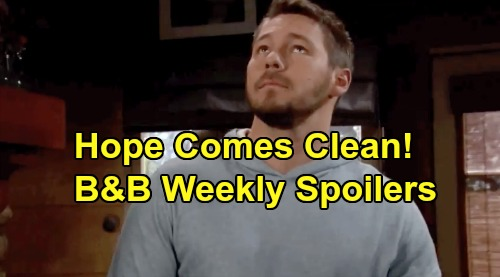 The Bold and the Beautiful Spoilers: Week of November 25 – Liam Floored as Hope Comes Clean – Quinn Spots Shauna & Ridge Kiss
