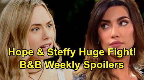 The Bold and the Beautiful Spoilers: Week of October 14 – Hope and Steffy's Explosive Showdown – Shauna Drops a Bomb on Ridge