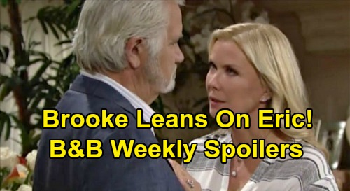 The Bold and the Beautiful Spoilers: Week of September 16 – Katie's Tragedy - Ridge & Shauna's Dangerous Pact – Brooke Leans on Eric