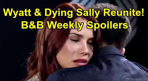 The Bold and the Beautiful Spoilers: Week of February 24-28 Preview – Wyatt Reunites with Dying Sally, Flo Says Go Make Her Happy