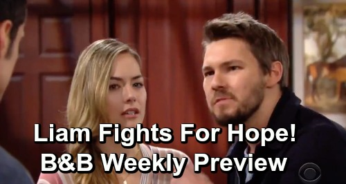 The Bold and the Beautiful Spoilers: Week of May 6 Preview – Hope Wants to Be Part of Thomas' Life – Liam Fights For His Wife