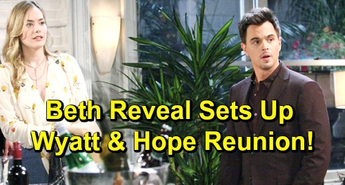 The Bold and the Beautiful Spoilers: Hope and Wyatt Bond Over Flo's Betrayal – Beth Reveal Sparks Surprising Reunion?