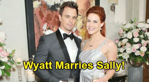 The Bold and the Beautiful Spoilers: Wyatt Marries Sally After Thomas & Zoe Nuptials Explode - 'Wally' Wedding Twist?