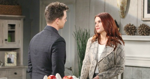 The Bold and the Beautiful Spoilers: Sally Knows Katie Spilled Death Secret - But Love For Wyatt Wins Out
