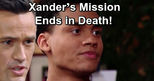 The Bold and the Beautiful Spoilers: Xander's Mission Ends with His Funeral – Thomas Murders Over Evidence Hunt?