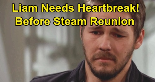 The Bold and the Beautiful Spoilers: Liam Should Be Single and Heartbroken – Character Reboot Needed Before Steam Reunion