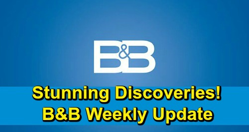 The Bold and the Beautiful Spoilers: Week of February 25 – Heartbreaking Bombshells, Stunning Discoveries and Brutal Blows