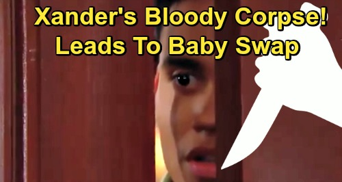 The Bold and the Beautiful Spoilers: Mystery of Xander's Death Brings Trouble – Bloody Corpse Clues Lead To Baby Swap Exposure?