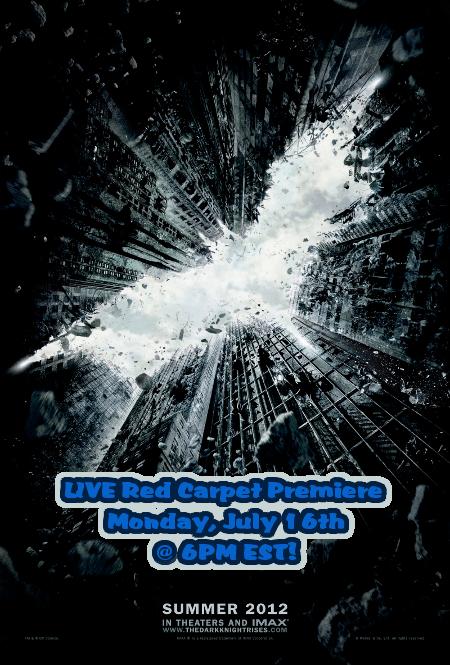 Oh My Gotham! 'The Dark Knight Rises' Red Carpet Premiere (Live Stream HERE)