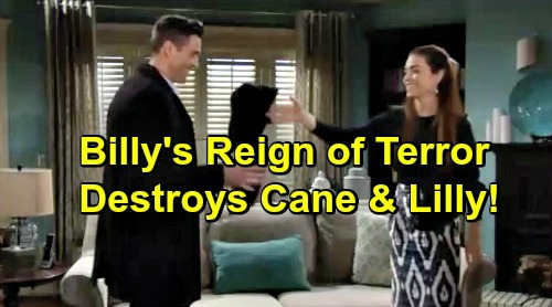 The Young and the Restless Spoilers: Billy's Revenge Blows Up in a Big Way – Cane's Brutal Downfall, Victoria's Secrets Unravel