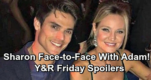 The Young and the Restless Spoilers: Friday, May 10 – Sharon Comes Face to Face with Adam – Mia's Arrested – Phyllis Confesses
