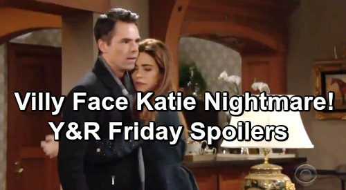 The Young and the Restless Spoilers: Friday, February 1 – Victor Seeks Katie's Kidnapper –Victoria and Billy Relive Delia Nightmare