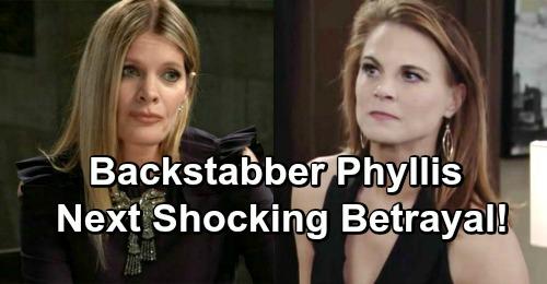 The Young and the Restless Spoilers: Backstabber Phyllis' Big Scheme, Betrayal Rocks GC - Michelle Stafford Inherits Scandal