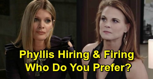 the young and the restless michelle stafford phyllis summers gina tognoni