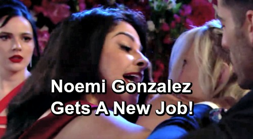 The Young and the Restless Spoilers: Noemi Gonzalez Gets a New Job – Y&R Star Takes on Role in Surprising Series