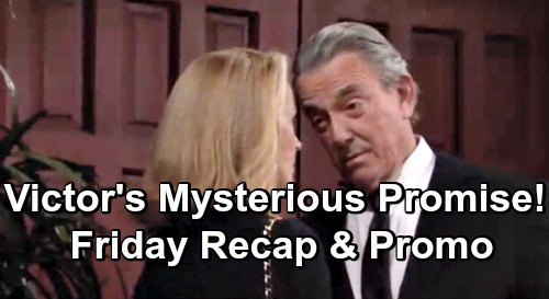 The Young and the Restless Spoilers: Friday, April 26 Recap – Victor's Cryptic Promise – Billy Shares Exciting News – Neil Flashbacks