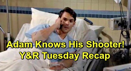 The Young and the Restless Spoilers: Tuesday, May 21 Recap – Adam Conceals Shooter's Identity, Seeks a Fall Guy – Jack's Hot Date