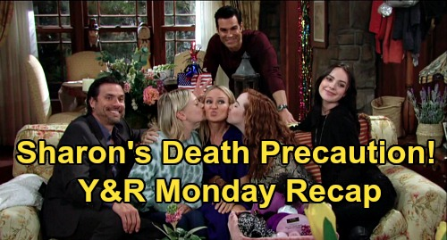 The Young and the Restless Spoilers: Monday, April 20 Recap – Sharon's Death Precautions – Phyllis Special Delivery – Theo Fired