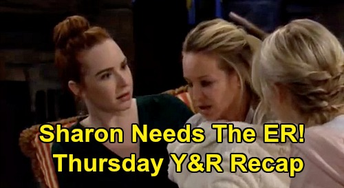 The Young and the Restless Spoilers: Thursday, March 5 Recap – Sharon Desperate ER Trip – Billy Gets Into Bed With Amanda