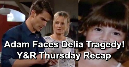 eca14cb72 The Young and the Restless Spoilers: Thursday, May 16 Recap – Adam Faces  Deadly