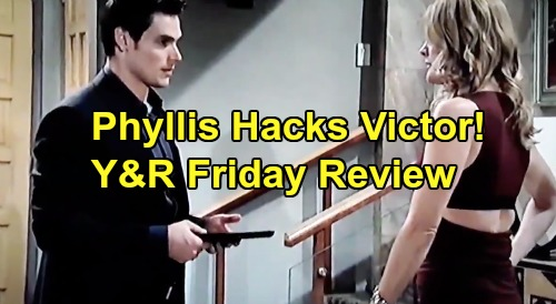 The Young and the Restless Spoilers: Friday, August 30 Review - Adam Tampers With Victor's Treatment, Phyllis Hacks Nate's Files