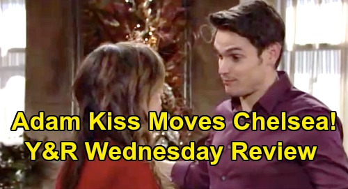 The Young and the Restless Spoilers: Wednesday, January 1 Review - Billy Unheard By Victoria, Prefers Amanda - Adam Kiss Moves Chelsea