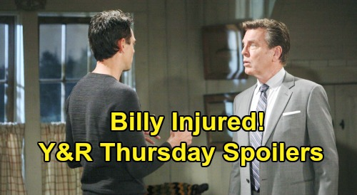 The Young and the Restless Spoilers: Thursday, February 13 – Billy Injured, Jack's Plan Goes Horribly Wrong – Victor's Surprise Guest