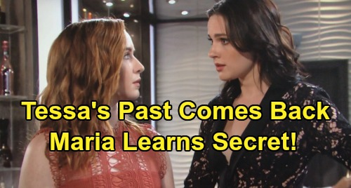 The Young and the Restless Spoilers: Tessa's Past Comes Back to Haunt Her - Mariah Learns Shocking Secret