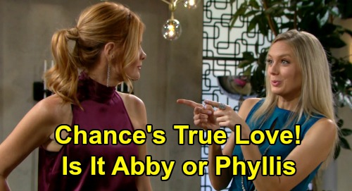 The Young and the Restless Spoilers: Chance Finds True Love - Who's Better Suited, Abby or Phyllis?