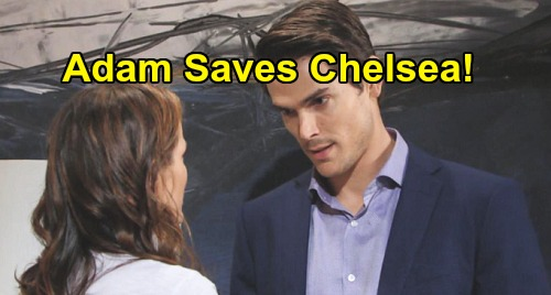 The Young and the Restless Spoilers: Deadly Danger Hits Genoa City – Chelsea Saved by Adam, Sets Up Long-awaited 'Chadam' Reunion