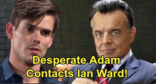 The Young and the Restless Spoilers: Will Adam Newman Get In Touch With Ian Ward – Epic Villain Returns On New Y&R Episodes?