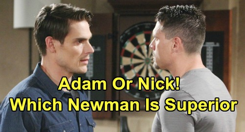 The Young and the Restless Spoilers: Adam or Nick, Which Newman Is Superior – Y&R Fans Settle Ultimate Brother Battle